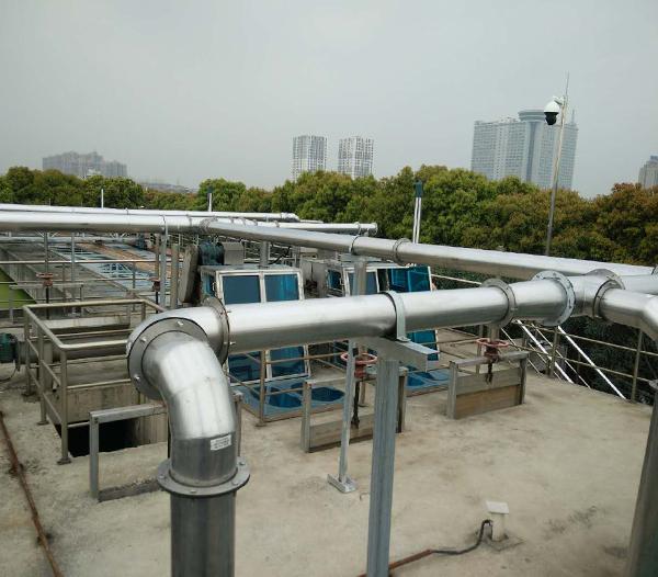 上海安亭污水处理厂除臭工程