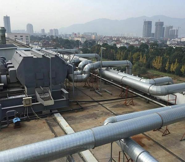 台州伟星废气收集
